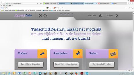 Krant delen kan ook online   BlokBoek e-zine   Scoop.it
