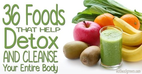 36 Foods That Help Detox and Cleanse Your Entire Body | diving | Scoop.it