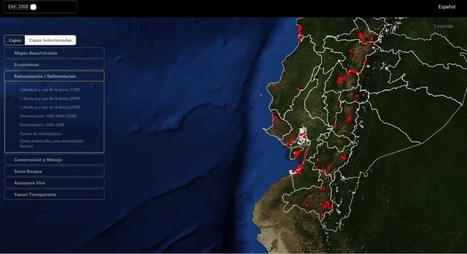 Putting the Trees Back on the Map: How GIS is Helping Reforest South America - GIS Lounge | Trees and Woodlands | Scoop.it