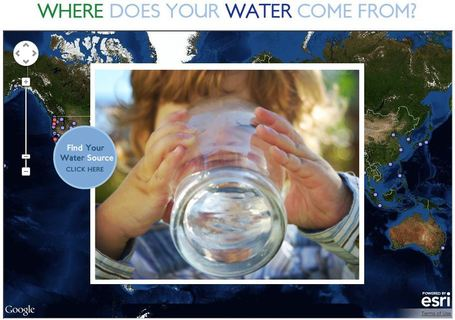 Where Does Your Water Come From? | GIS in Education | Scoop.it