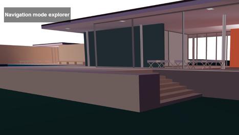 """Walkable"" 3D Modell of Barcelona Pavillion | Art & Design: Digital & Analog - and (Interior) Architecture | Scoop.it"