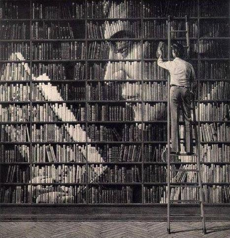 Twitter / TheWeirdWorld: Awesome Creativity With Books... ... | Social Media, Communications and Creativity | Scoop.it