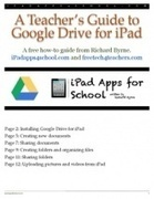 Google Drive for iPad | Technology Coaching | Scoop.it