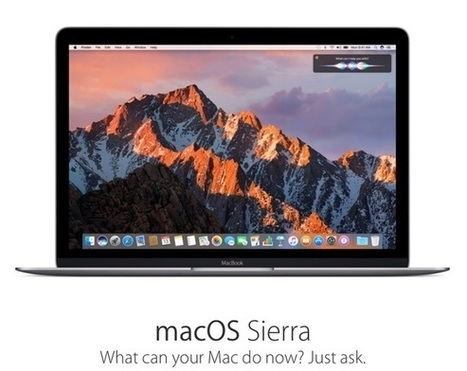 macOS Sierra is set to launch on September 20 | Mac Tech Support | Scoop.it