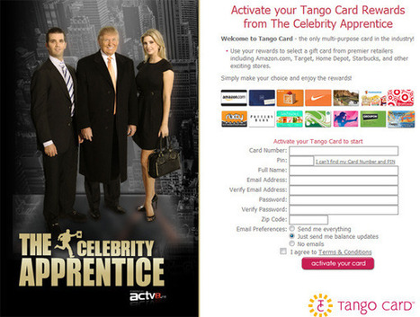 ACTV8.me adds second screen loyalty program via Tango Card | social tv and the second screen | Scoop.it