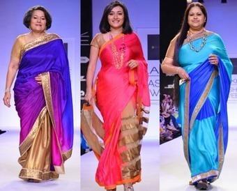 Mandira Bedi Saree Collections | Womens Special | Scoop.it