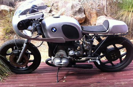 "BMW R80 '85 ""A COFFEE IN LERCHENAUER STRAßE"" 