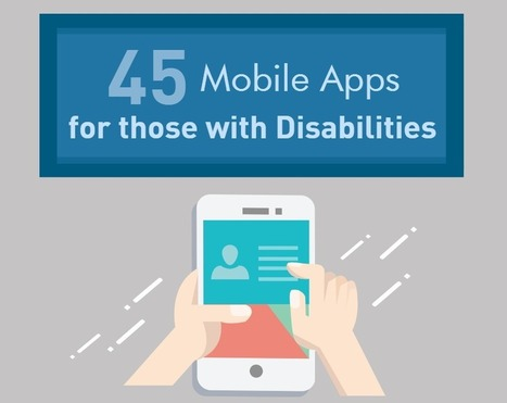 45 Powerful Mobile Apps for those with Disabilities | Technology in the Classroom; 1:1 Laptops & iPads & MORE | Scoop.it