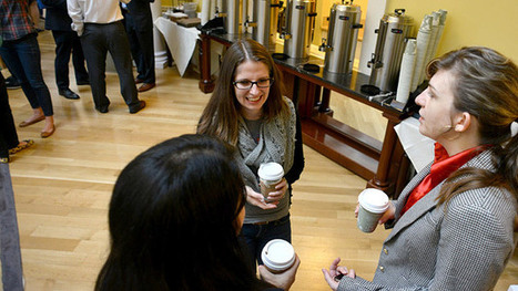 B-School Traditions: First Coffee at Darden - Businessweek   Management By Walking Around   Scoop.it