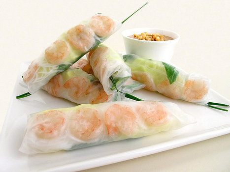 Gastronomer's Guide: Vietnamese Shrimp-and-Herb Summer Rolls | @FoodMeditations Time | Scoop.it