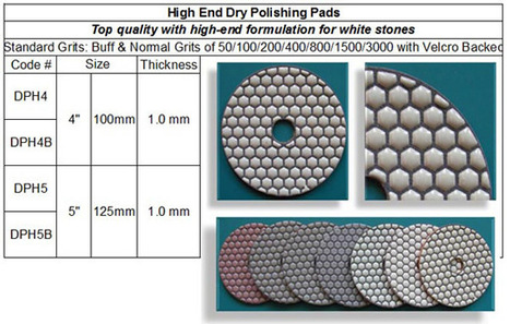 High End Dry Polishing Pad made by RM Tech Korea (StoneTools Korea®) provides the highest quality; world top selling more than 500 sets monthly | Concrete Polishing Tools Accessaries | Scoop.it