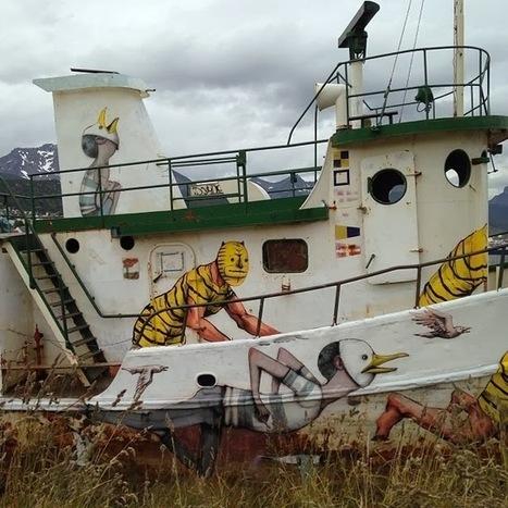 JAZ & Seth Paint a Boat - Ushuaia, Argentina | Technology | Scoop.it