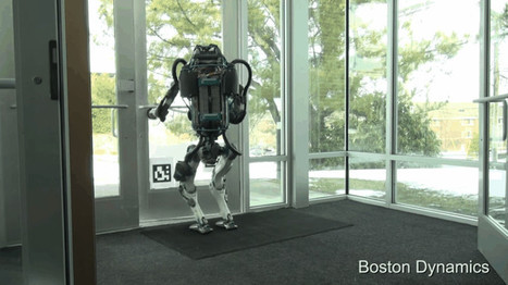 Watch the Next Generation Atlas Robot Get Bullied By A Mean Human (And Stay On His Feet) | Post-Sapiens, les êtres technologiques | Scoop.it