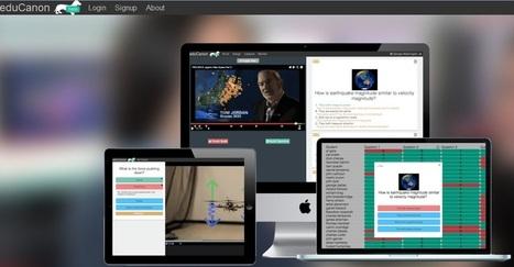 EduCanon: Crea clases interactivas usando vídeos | Gustavo Martínez Blog´s | Vídeos Interactivos | Scoop.it