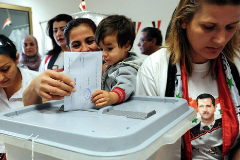 Polls close in Syrian election   Business Video Directory   Scoop.it