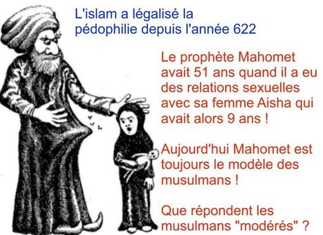 Pédophilie, inceste, zoophilie et nécrophilie en islam - justpaste.it | Islam : danger planétaire | Scoop.it