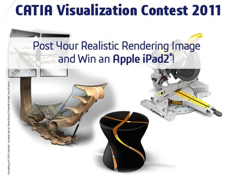CATIA Visualization Contest : Win an iPad 2! | CATIA V6 | Scoop.it