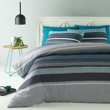 Lennox Quilt Cover Set by Big Sleep - Manchester House | Soft Furnishings | Scoop.it