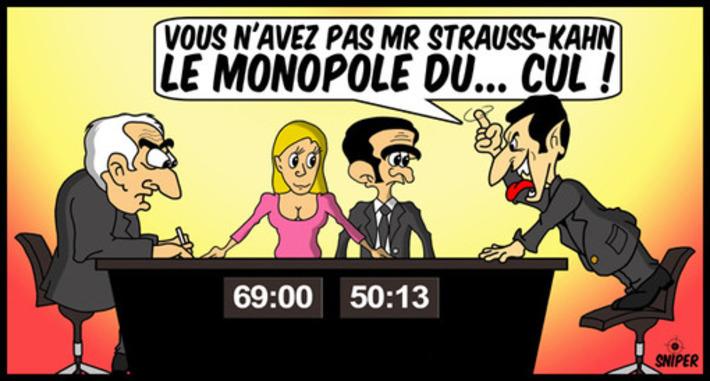 Sarkozy aurait-il gagné face à DSK ??? | Baie d'humour | Scoop.it
