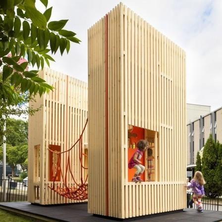 Casa de juegos 'Sam + Pam' / McFarlane Biggar Architects + Designers Inc. | Plataforma Arquitectura | Vivienda y Construcción | Scoop.it