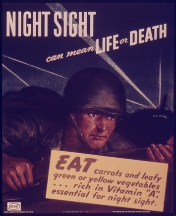 A WWII Propaganda Campaign Popularized the Myth That Carrots Help You See in the Dark | The Smithsonian | Kiosque du monde : Amériques | Scoop.it