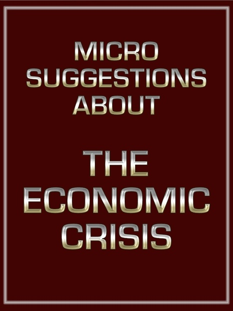 Micro-Suggestions about the economic crisis | The Economy: Past, Present and Future | Scoop.it