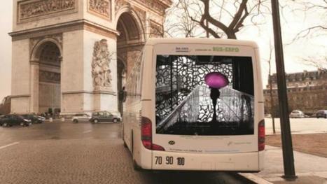 Les bus Air France transformés en galeries d'art... | Médias sociaux et tourisme | Scoop.it