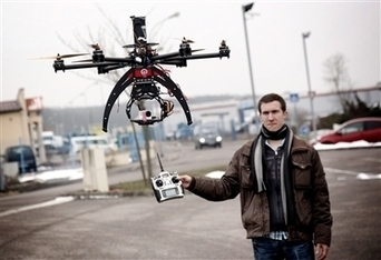 Messein : drôles de drones pour la prise de vue aérienne | Drone Civil | Scoop.it