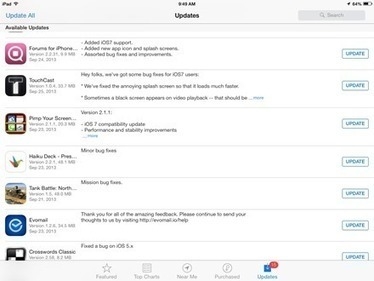 More Notable iPad App Updates for iOS 7   Technology in the Classroom   Scoop.it