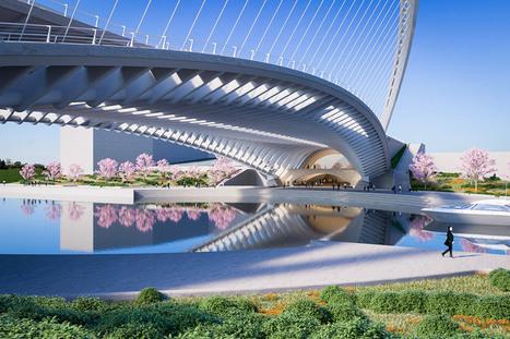 [Huashan, China] Santiago Calatrava unveils three bridge designs for Huashan | The Architecture of the City | Scoop.it