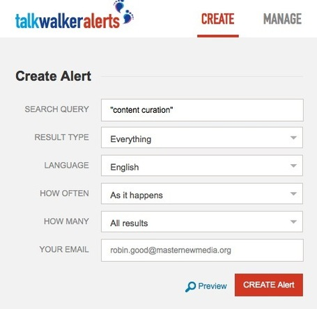 Best Google Alerts Alternative: TalkWalker Alerts | Univers de la veille | Scoop.it