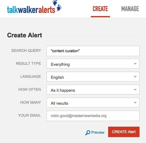 Create Persistent Searches and Monitor Specific Keywords with the Best Google Alerts Alternative: TalkWalker Alerts | Best of Social Media Tools, Tips & Resources | Scoop.it