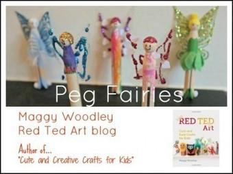 20Moms: making simple peg fairies with Red Ted Art | Teach Preschool | Scoop.it
