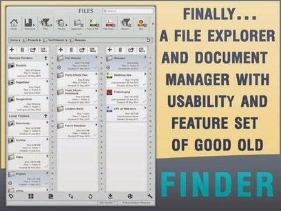 Files-Finder edition - Manage and transfer files easily with your iPad ...   Appsicum Apps   Scoop.it