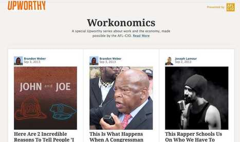6 leçons à tirer d'Upworthy, le média phénomène que tout journaliste devrait connaître | c'est PAS CONcept | Scoop.it