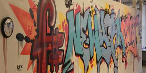 Check Out This Music Startup's Graffiti-Covered New York City Office | the goalden spirit | Scoop.it