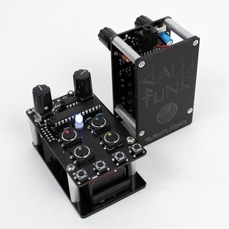 Artist Gear: Dam-Drum 2.0 is a Handheld Drum Machine from Bleep Labs, Stones Throw Records [Listen] | DJ Equipment | Scoop.it