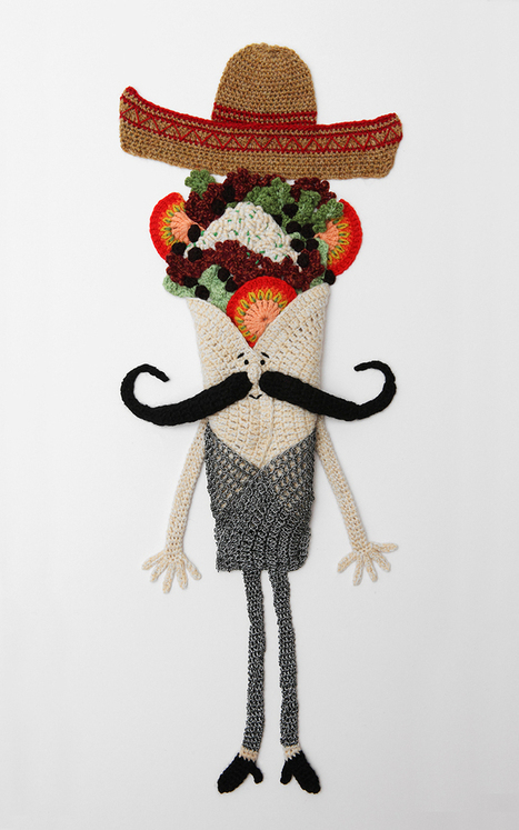 Incredibly Creative Food Art Crocheted with Yarn - My Modern Metropolis | El arte de comer | Scoop.it