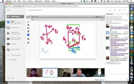 Day 47: Physics Teacher G+ Hangouts | Iowa Learning Online | Scoop.it