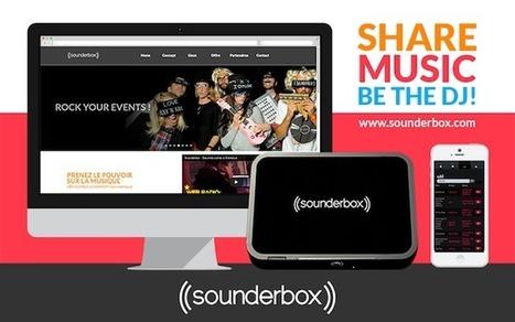 La startup du jour : Sounderbox, création de playlists collaboratives pour vos soirées   Réseaux sociaux, médias, télé, techno,...   Scoop.it
