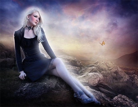 Create a Mystical Scene and Add Makeup to a Girl in Photoshop | The Official Photoshop Roadmap Journal | Scoop.it