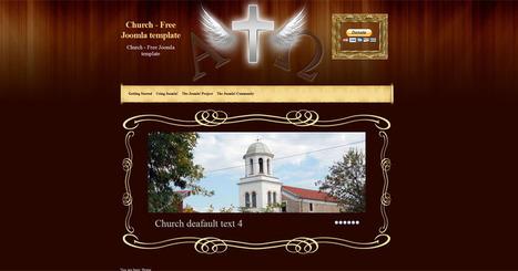 Free Joomla 2.5 church template | Free Joomla Templates | ArteFire | Scoop.it
