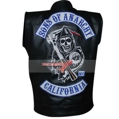 Sons Of Anarchy Jax Teller Biker Patches Vest For Sale | Film Star Jackets | Scoop.it