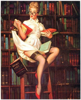Gil Elvgren Vintage Pin Up Posters Gallery 20 | Rockabilly | Scoop.it