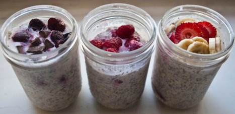 Overnight (No Cooking) Oatmeal | Healthy Recipes In Cooking Blogs | Scoop.it