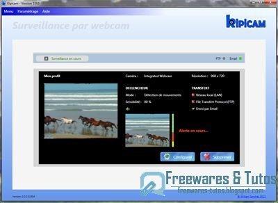 Kipicam : un logiciel gratuit en français de vidéo surveillance | Time to Learn | Scoop.it