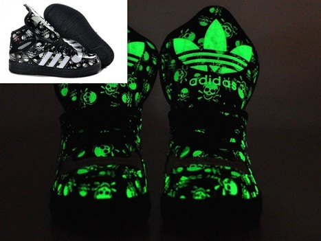 Adidas Glow In The Dark Big Tongue Skull Black For Sale Online   Cheap Glow In The Dark Adidas Online   Scoop.it