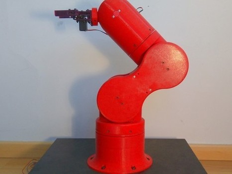Thor Open Source Robotic Arm from Spain | DigitAG& journal | Scoop.it