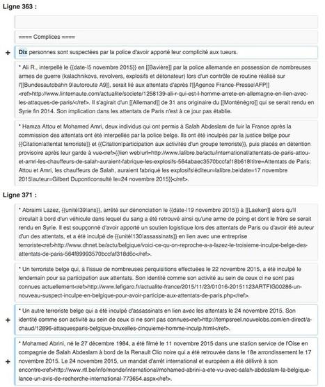 Comment Wikipédia a écrit l'histoire des attentats du 13 novembre   SEO and Social Media Marketing and Webmaster   Scoop.it