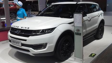 Land Rover ose exiger justice pour cette copie chinoise sans équivoque | IT & Innovation | Scoop.it